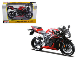 Honda CBR 600RR Red/Black 1/12 Diecast Motorcycle Model by Maisto