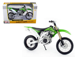 Kawasaki KX 450F Green 1/12 Diecast Motorcycle Model by Maisto