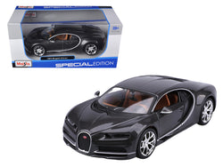 Bugatti Chiron Grey 1/24 Diecast Model Car by Maisto