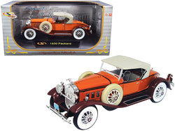 1930 Packard Boattail Speedster Brown 1/32 Diecast Model Car by Signature Models