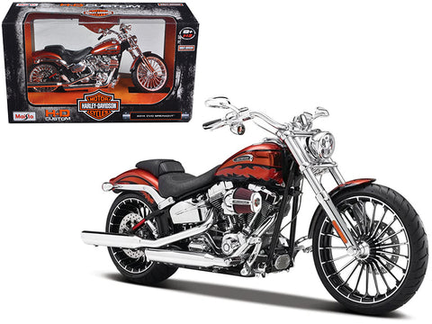 2014 Harley Davidson CVO Breakout 1/12 Diecast Motorcycle Model by Maisto