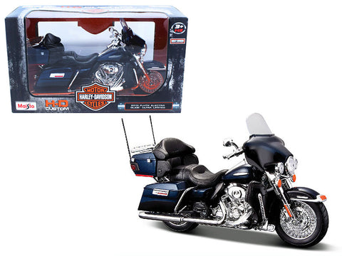 2013 Harley Davidson FLHTK Electra Glide Limited 1/12 Diecast Motorcycle Model by Maisto