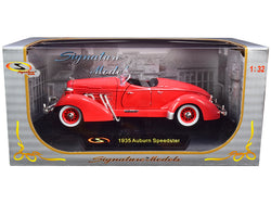 1935 Auburn Speedster Coral Red 1/32 Diecast Model Car by Signature Models