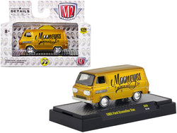 "1965 Ford Econoline Van ""Mooneyes"" Liquid Gold Limited Edition to 3,680 pieces Worldwide 1/64 Diecast Model Car by M2 Machines"