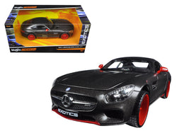 "Mercedes AMG GT Black ""Exotics"" 1/24 Diecast Model Car by Maisto"