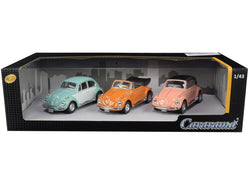 Volkswagen Beetle (3 Piece Set) 1/43 Diecast Model Cars by Cararama