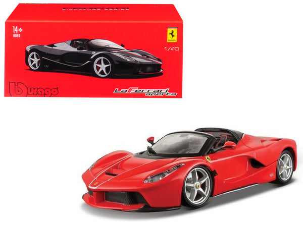 "Ferrari LaFerrari Aperta Red ""Signature Series"" 1/43 Diecast Model Car by Bburago"