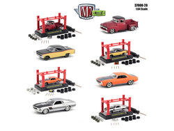 Model Kit Release #20 (4 Car Set) 1/64 Diecast Models by M2 Machines