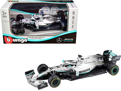 Mercedes AMG Petronas F1 W10 EQ Power+ #44 Lewis Hamilton Formula One Car 1/43 Diecast Model Car by Bburago