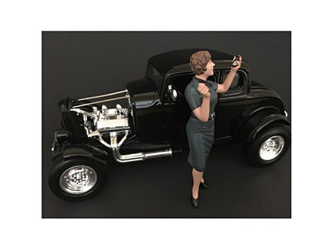 1950's Style Figure #4 for 1:18 Scale Diecast Models by American Diorama