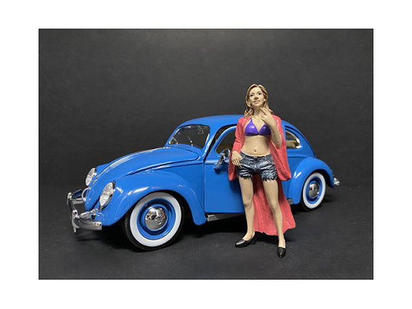 """Partygoers"" Figure #8 for 1/18 Scale Diecast Models by American Diorama"