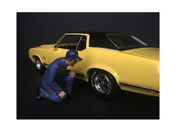 Mechanic Juan with Lug Wrench Figure for 1/18 Scale Models by American Diorama