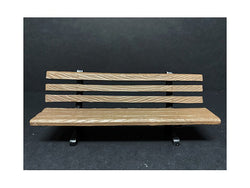 Park Bench Accessory Set (2 Piece Set) for 1/18 Scale Models by American Diorama