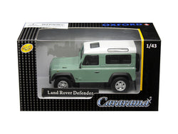 Land Rover Defender Light Green 1/43 Diecast Model Car by Cararama