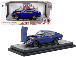"1970 Nissan Fairlady Z432 Dark Blue ""Auto Japan"" Limited Edition to 5,800 pieces Worldwide 1/24 Diecast Model Car by M2 Machines"