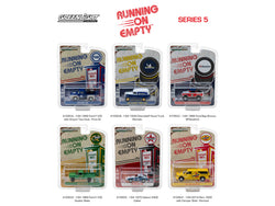 Running on Empty Series #5 (6 Car Set) 1/64 Diecast Models by Greenlight