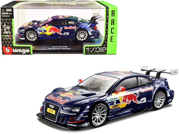"Audi A5 DTM #3 Mattias Ekstrom ""Red Bull Race Car"" Series 1/32 Diecast Model Car by Bburago"