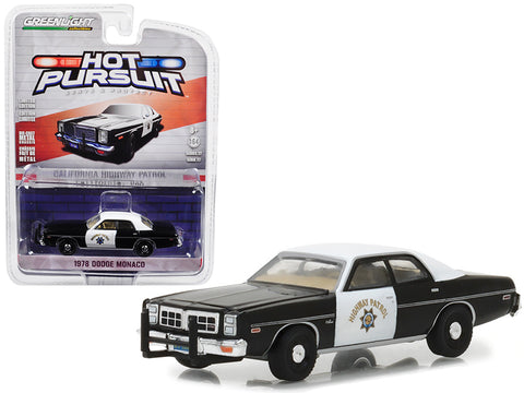 1978 Dodge Monaco California Highway Patrol (CHP) Hot Pursuit Series #27 1/64 Diecast Model Car by Greenlight