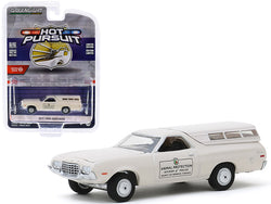 "1972 Ford Ranchero with Canopy Cream ""Animal Protection Division of Police"" (Henrico County, Virginia) ""Hot Pursuit"" Series #34 1/64 Diecast Model Car by Greenlight"