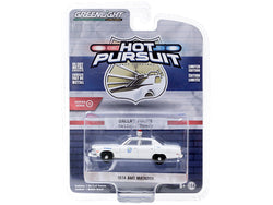 "1974 AMC Matador ""Dallas Police"" (Texas) White ""Hot Pursuit"" Series #35 1/64 Diecast Model Car by Greenlight"