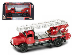 1944 Mercedes Type L4500F Fire Engine Red 1/43 Diecast Model by Road Signature