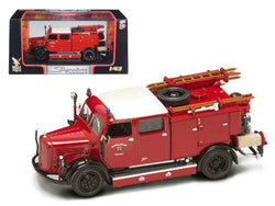 1950 Mercedes Type TLF-15 Fire Engine Red 1/43 Diecast Model by Road Signature