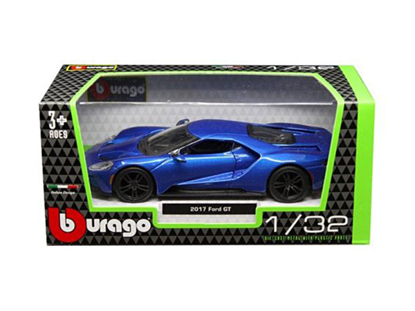2017 Ford GT Blue 1/32 Diecast Model Car by Bburago