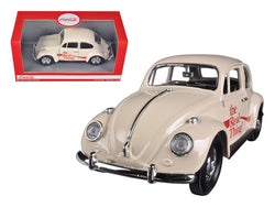 "1966 Volkswagen Beetle ""Coca Cola"" The Real Thing 1/24 Diecast Model Car by Motorcity Classics"