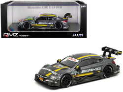 "Mercedes AMG C 63 ""DTM"" #3 1/43 Diecast Model Car by RMZ City"