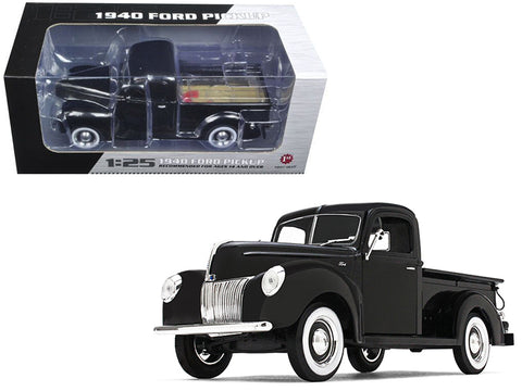 1940 Ford Pickup Truck Black 1/25 Diecast Model by First Gear