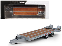 Beavertail Trailer Silver 1/50 Diecast Model by First Gear