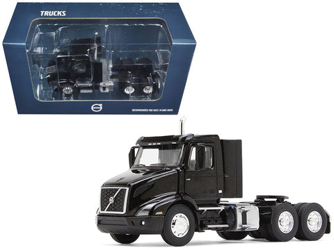 Volvo VNR 300 Day Cab Sable Black Metallic 1/50 Diecast Model by First Gear
