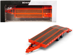 Beavertail Trailer Orange 1/50 Diecast Model by First Gear