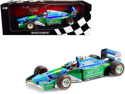 Benetton Ford B194 #5 Mick Schumacher Demonstration Run Formula One F1 Belgian Grand Prix (2017) Limited Edition to 504 pieces Worldwide 1/18 Diecast Model Car by Minichamps