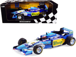 Benetton Renault B195 #1 Michael Schumacher Winner German GP Formula One F1 (1995) Limited Edition to 480 pieces Worldwide 1/18 Diecast Model Car by Minichamps