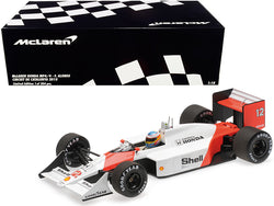 McLaren Honda MP4/4 #12 Fernando Alonso Circuit de Catalunya (2015) Limited Edition to 204 pieces Worldwide 1/18 Diecast Model Car by Minichamps