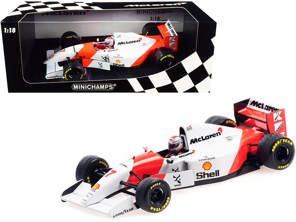 "McLaren Ford MP4/8 #7 Michael Andretti ""Shell Oil"" Formula One F1 European Grand Prix (1993) Limited Edition to 300 pieces Worldwide 1/18 Diecast Model Car by Minichamps"