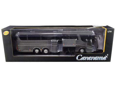 Scania Irizar Pb Bus Dark Gray Metallic 1/50 Diecast Model by Cararama