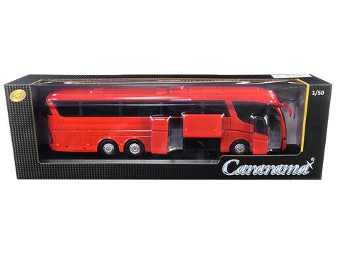 Scania Irizar Pb Bus Red 1/50 Diecast Model by Cararama