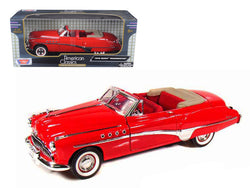 1949 Buick Roadmaster Red 1/18 Diecast Model Car by Motormax