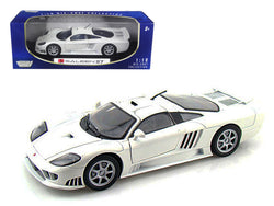 Saleen S7 White 1/18 Diecast Model Car by Motormax
