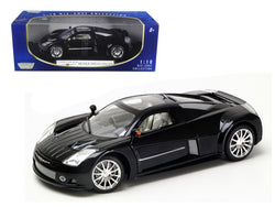 Chrysler Me Four Twelve Concept Car  Black 1/18 Diecast Model Car by Motormax