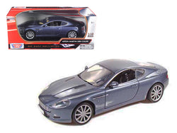 Aston Martin DB9 Coupe Blue 1/18 Diecast Model Car by Motormax