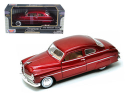 1949 Mercury Red 1/24 Diecast Model Car by Motormax