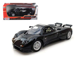 Pagani Zonda C12 Black 1/24 Diecast Model Car by Motormax