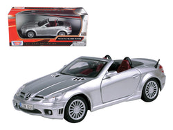 2005 Mercedes SLK55 SLK 55 AMG Silver 1/24 Diecast Model Car by Motormax