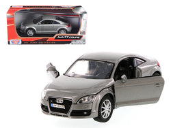 Audi TT Coupe Grey 1/24 Diecast Model Car by Motormax