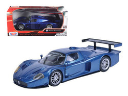Maserati MC 12 Corsa Blue 1/24 Diecast Model Car by Motormax
