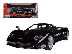 Pagani Zonda F Nurburgring Black 1/24 Diecast Model Car by Motormax