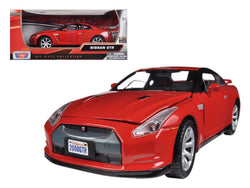 Nissan GTR R35 Red 1/24 Diecast Model Car by Motormax